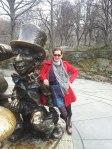Mad Hatter in Central Park