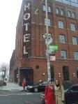 Wythe Hotel in Williamsburg with Gemma